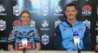 Blues press conference, Women's State of Origin