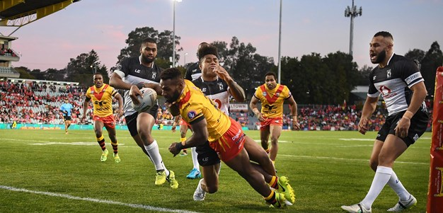 Rau's perfect debut for PNG