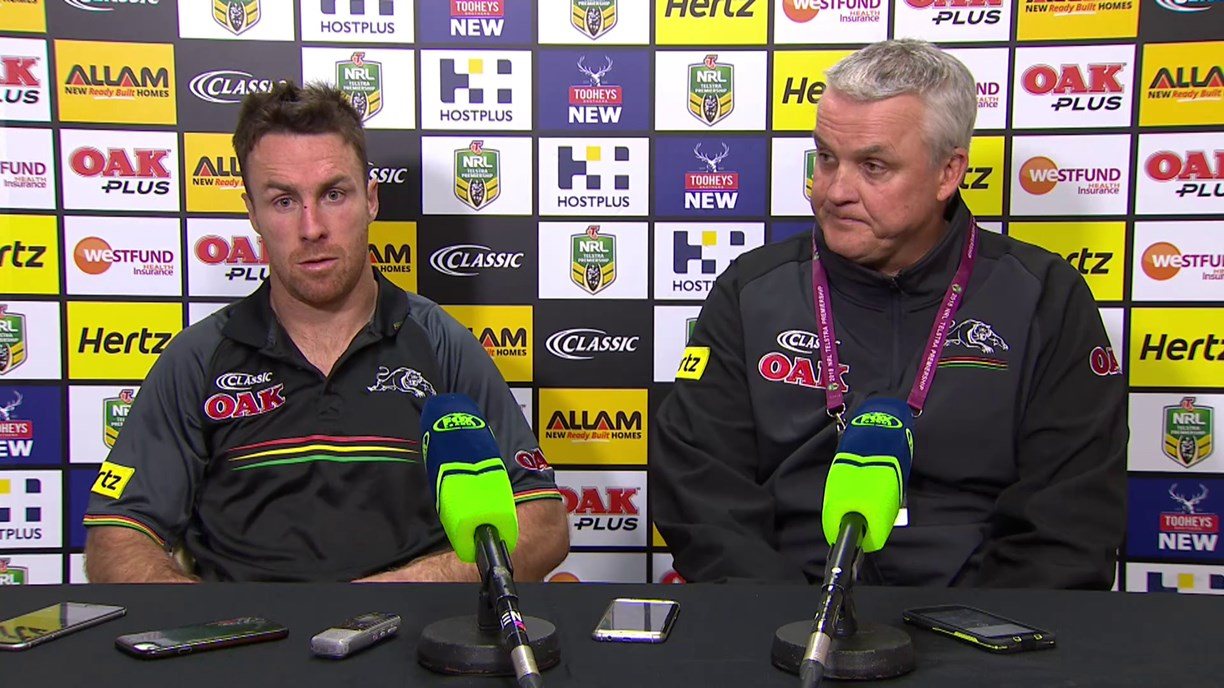 Panthers press conference - Round 16