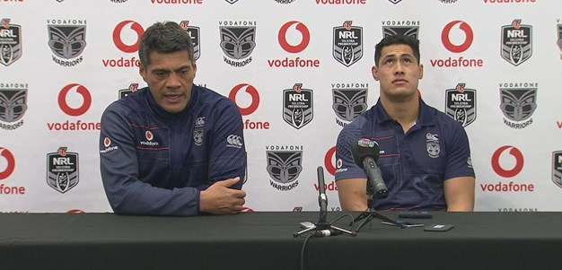Warriors press conference - Round 16