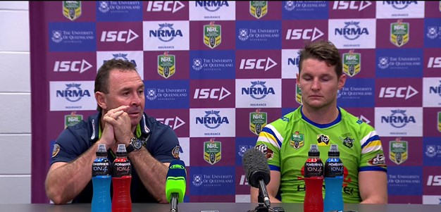 Raiders press conference - Round 16