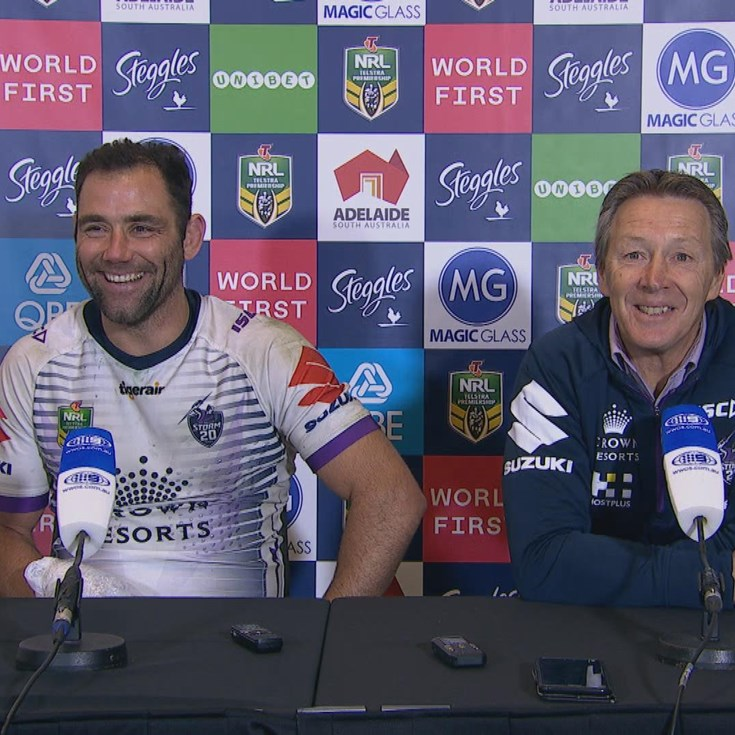 Storm press conference - Round 16