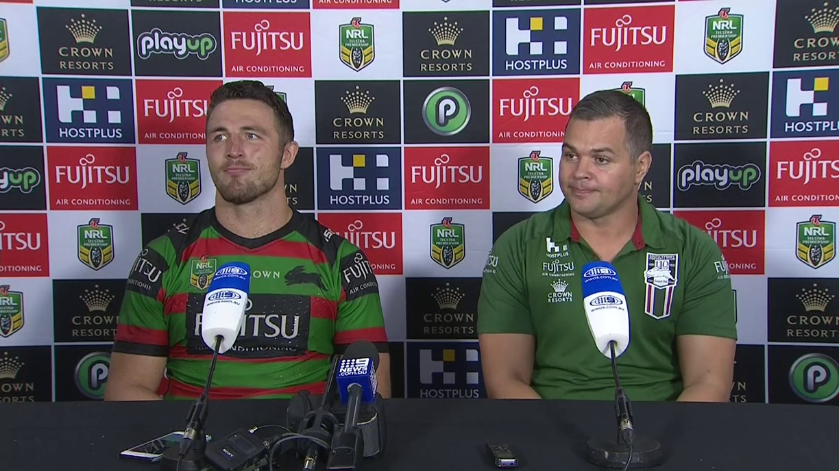 Rabbitohs press conference - Round 16, 2018