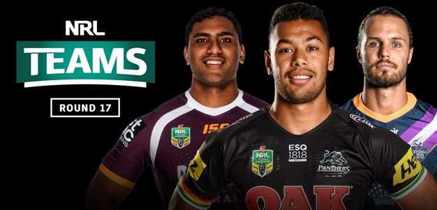 NRL Teams - Round 17