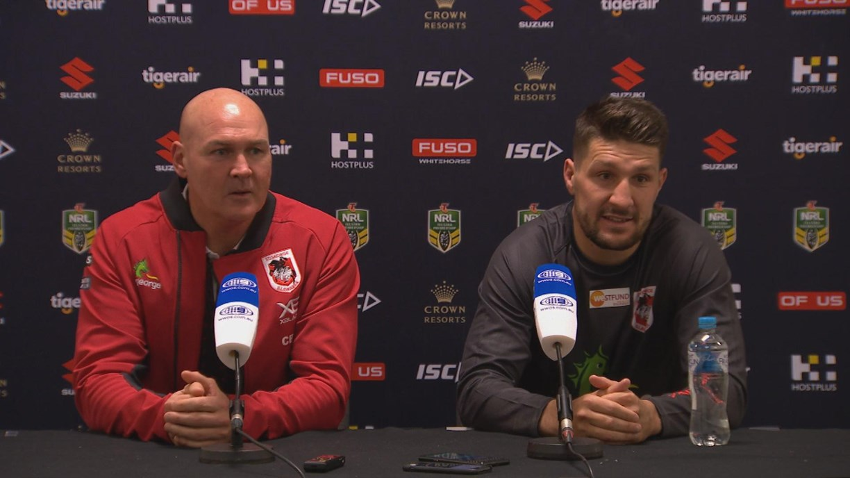 Dragons press conference - Round 17