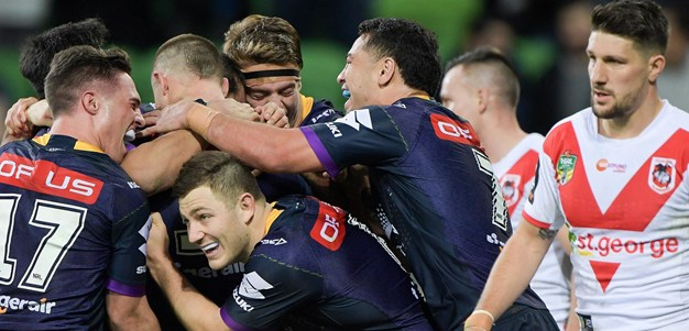 Match Highlights: Storm v Dragons - Round 17, 2018