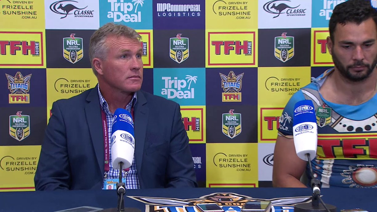 Titans press conference: Round 17, 2018