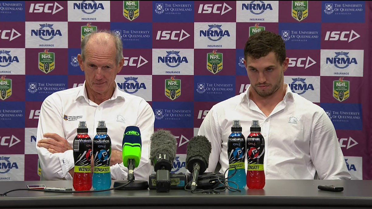 Broncos press conference - Round 18