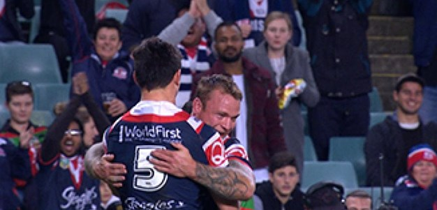 Full Match Replay: Sydney Roosters v South Sydney Rabbitohs (1st Half) - Round 18, 2017