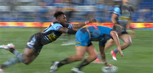 Full Match Replay: Gold Coast Titans v Cronulla-Sutherland Sharks (1st Half) - Round 19, 2017