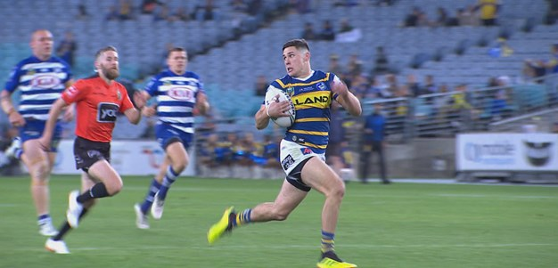 Moses races away to put Eels ahead
