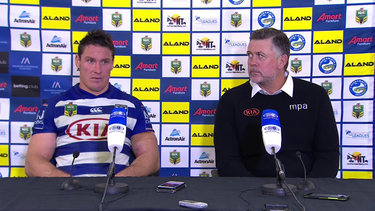 Bulldogs press conference - Round 19
