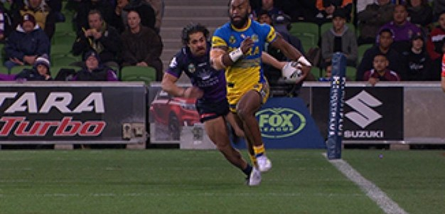 Full Match Replay: Melbourne Storm v Parramatta Eels (1st Half) - Round 18, 2017
