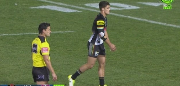 Rd 18: PENALTY GOAL Nathan Cleary (57th min)