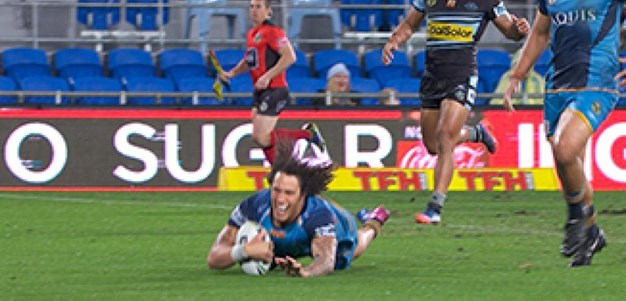 Full Match Replay: Gold Coast Titans v Cronulla-Sutherland Sharks (2nd Half) - Round 19, 2017