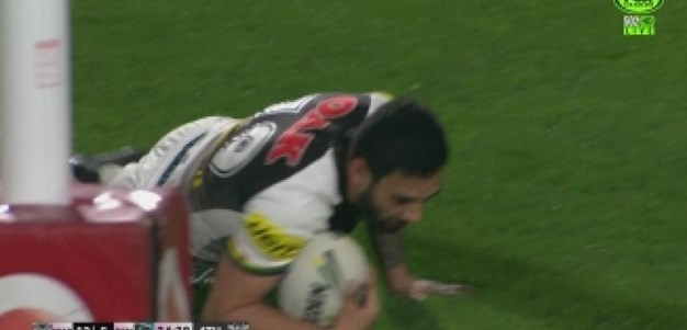 Rd 19: TRY Tyrone May (25th min)