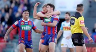 Meaney's first try
