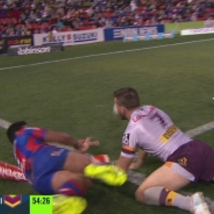 Rd 19: TRY Chanel Mata'utia (55th min)