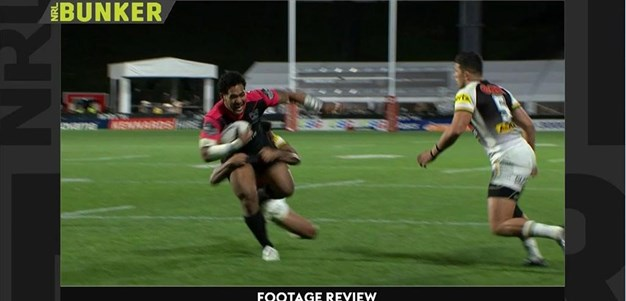 Rd 19: Warriors v Panthers - Try 47th minute - Solomone Kata