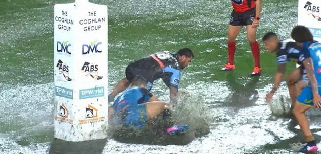 Rd 19: Titans v Sharks - No Try 27th minute