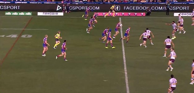 Rd 19: Knights v Broncos - Try 34th minute - Danny Levi