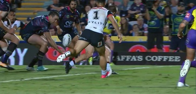 Rd 20: Cowboys v Warriors - Try 37th minute - Javid Bowen