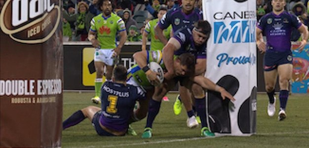 Full Match Replay: Canberra Raiders v Melbourne Storm (1st Half) - Round 20, 2017