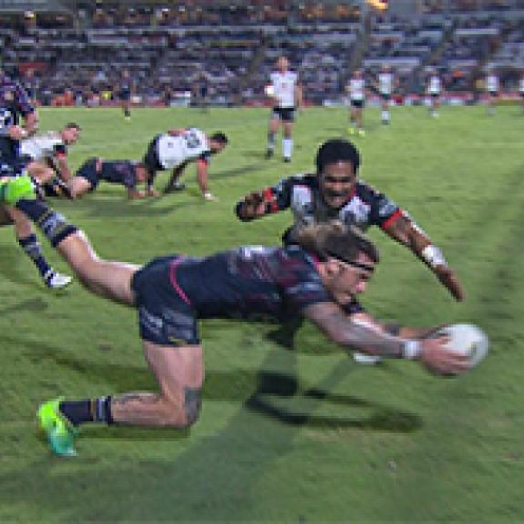 Full Match Replay: North Queensland Cowboys v Warriors (2nd Half) - Round 20, 2017