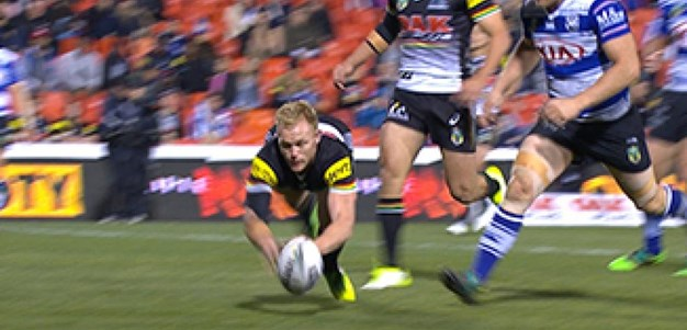 Full Match Replay: Penrith Panthers v Canterbury-Bankstown Bulldogs (1st Half) - Round 21, 2017