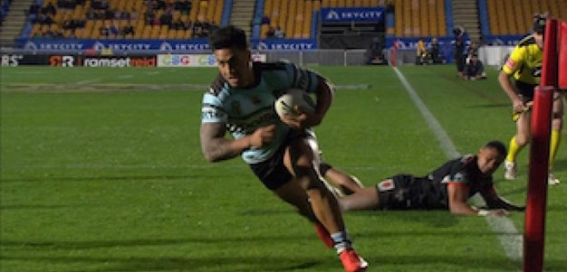 Full Match Replay: Warriors v Cronulla-Sutherland Sharks (2nd Half) - Round 21, 2017
