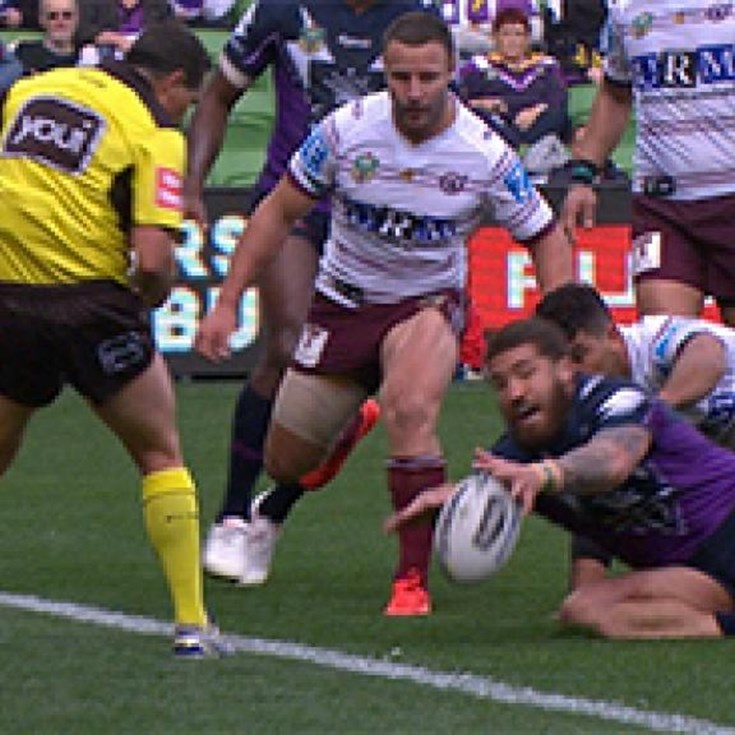 Full Match Replay: Melbourne Storm v Manly-Warringah Sea Eagles (2nd Half) - Round 21, 2017