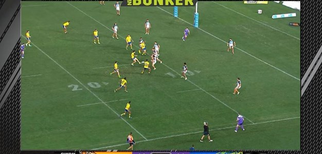 Rd 20: Tigers v Eels - No Try 65th minute