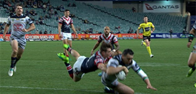 Full Match Replay: Sydney Roosters v North Queensland Cowboys (1st Half) - Round 21, 2017