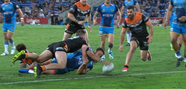 Full Match Replay: Gold Coast Titans v Wests Tigers (2nd Half) - Round 21, 2017