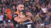 Thompson's 80-metre intercept try