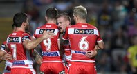 Match highlights: Cowboys v Dragons – Round 19, 2018