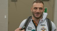 Farah reacts to Burgess spray