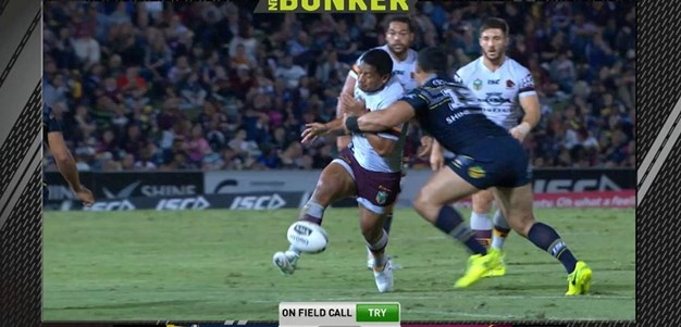 Rd 26: Cowboys v Broncos - Try 14th minute - Matt Gillett