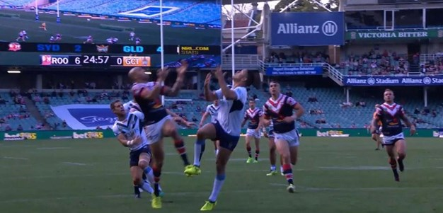 Rd 26: Roosters v Titans - No Try 16th minute