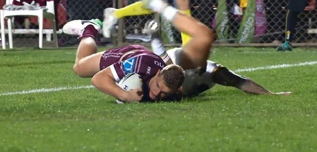 Rd 26: Sea Eagles v Panthers - Try 34th minute - Tom Trbojevic