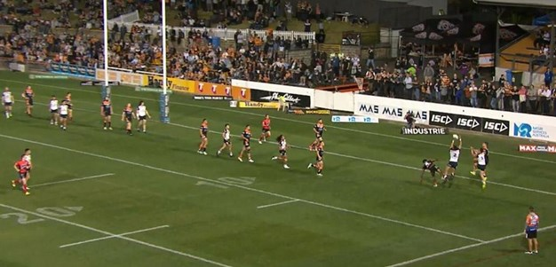 Rd 26: Tigers v Warriors - No Try 26th minute