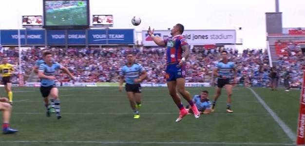 Rd 26: Knights v Sharks - No Try 78th minute