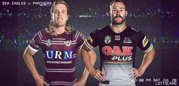 Sea Eagles v Panthers - Round 20