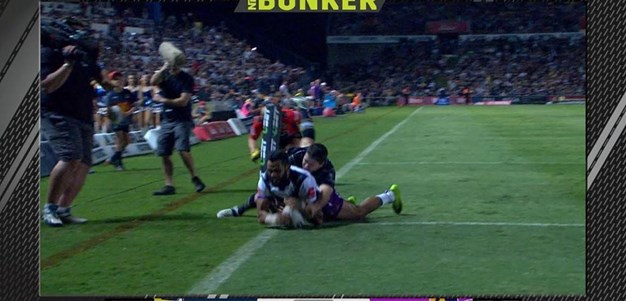 Rd 22: Cowboys v Storm - Try 4th minute - Josh Addo-Carr