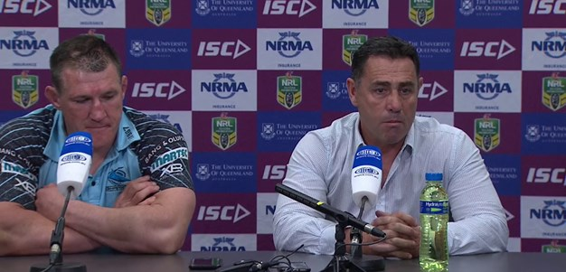 Sharks press conference - Round 20