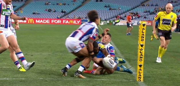 Rd 23: Eels v Knights - No Try 30th minute