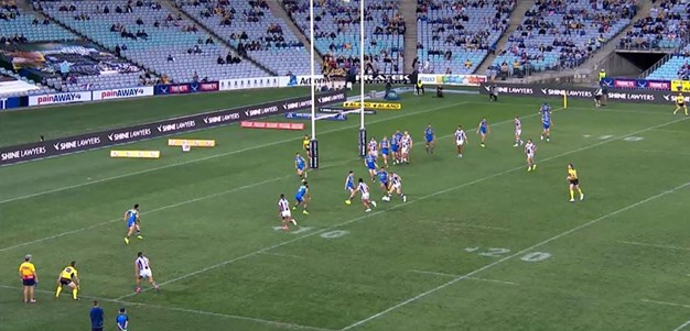 Rd 23: Eels v Knights - No Try 50th minute