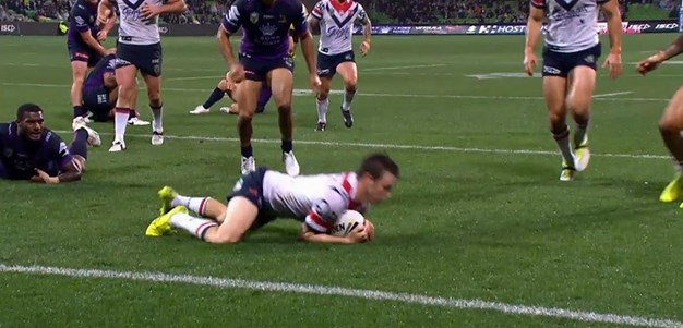 Rd 23: Storm v Roosters - Try 29th minute - Luke Keary