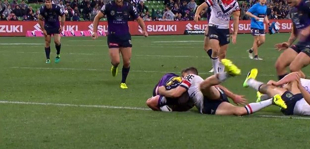 Rd 23: Storm v Roosters - Try 77th minute - Joe Stimson