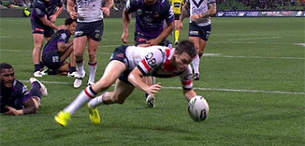 Full Match Replay: Melbourne Storm v Sydney Roosters (1st Half) - Round 23, 2017
